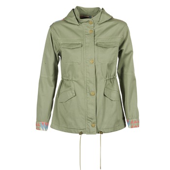 Clothing Women Parkas Roxy SULTANIS KAKI