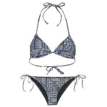 Clothing Women Bikinis Roxy DOLTY Black / White