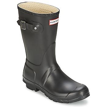 Shoes Women Wellington boots Hunter Women's Original Short Black
