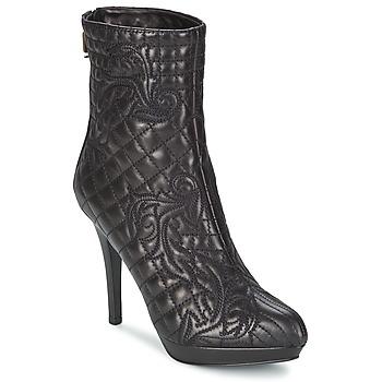 Shoes Women Ankle boots Versace MARGHERITA Black