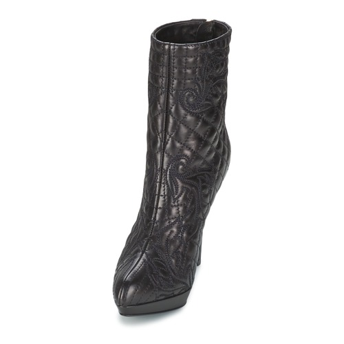 Versace MARGHERITA Black - Free delivery Shoes Ankle boots Women £ 489.00 KQcQXt4a