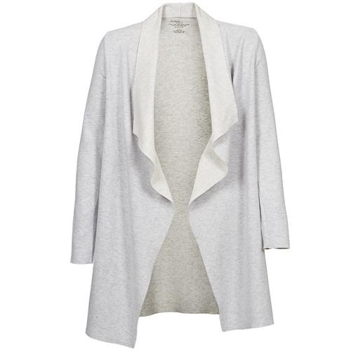 Clothing Women Jackets / Cardigans Majestic 2002 Ecru