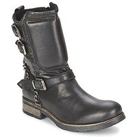 Shoes Women Mid boots Casual Attitude SERIS Black