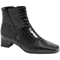 Shoes Women Ankle boots Gabor Bassanio Leather Womens Black Ankle Boots black