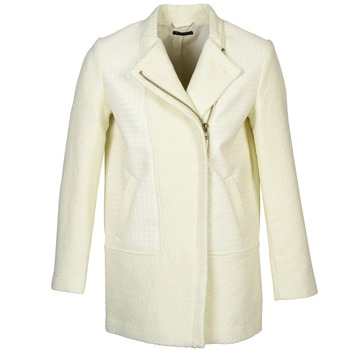Clothing Women coats Sisley NEVOLA White