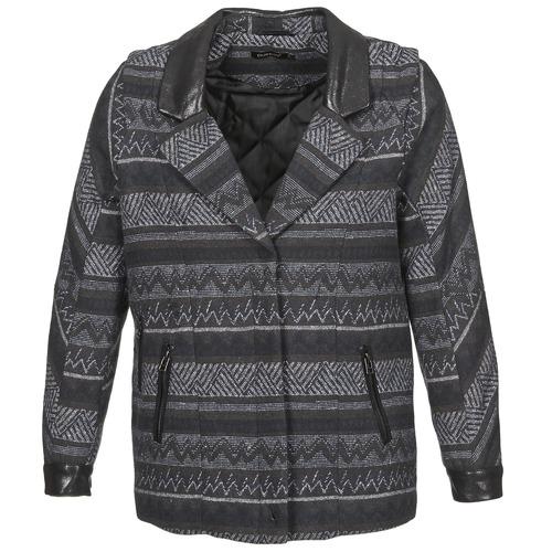 Clothing Women Coats Color Block ALTONA Black