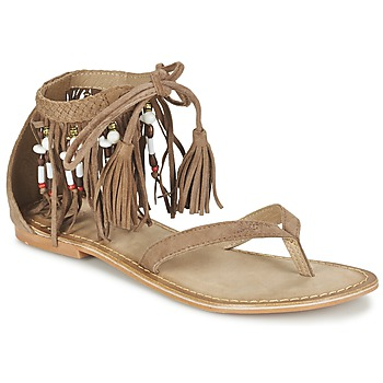 Shoes Women Sandals Vero Moda VMKAYA LEATHER SANDAL Cognac