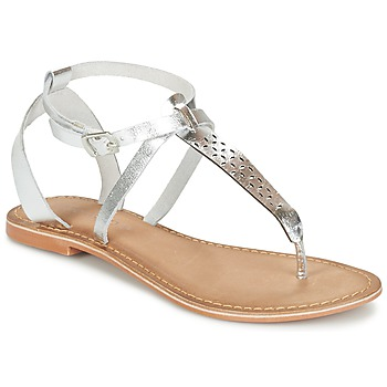Shoes Women Sandals Vero Moda VMANNELI LEATHER SANDAL Silver