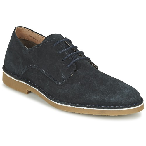Shoes Men Derby Shoes Selected DAXEL Marine