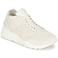 Shoes Women Low top trainers Le Coq Sportif LCS R FLOW W NUBUCK Cream