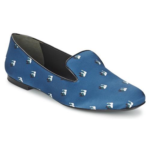 Shoes Women Flat shoes Kenzo 2SL110 Blue / Marine
