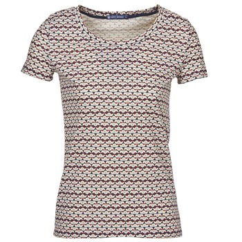 Clothing Women short-sleeved t-shirts Petit Bateau 10620 Multicoloured