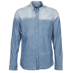 Clothing Men long-sleeved shirts Calvin Klein Jeans WHAM Blue