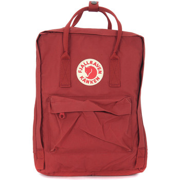 Bags Men Rucksacks Fjallraven Kånken by   deep red backpack Red