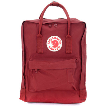 Bags Men Rucksacks Fjallraven Kånken by red backpack Red