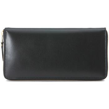 Bags Women Wallets Comme Des Garcons COMME DES GARçONNS BLACK LONG-ZIP AROUND WALLET Black