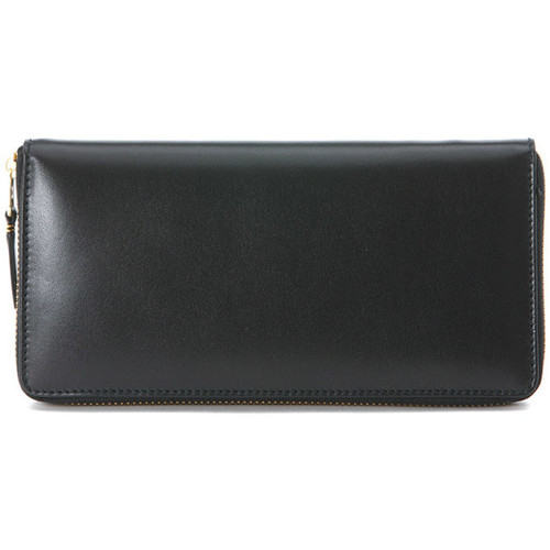 Bags Women Wallets Comme Des Garcons COMME DES GARçONNS BLACK LONG-ZIP AROUND WALLET Black