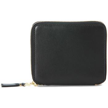 Bags Women Wallets Comme Des Garcons COMME DES GARçONS BLACK WALLET U CLOSURE Black