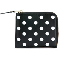 Bags Women Purses Comme Des Garcons Comme Des Garçons Wallets rectangular black and white polka dots Black