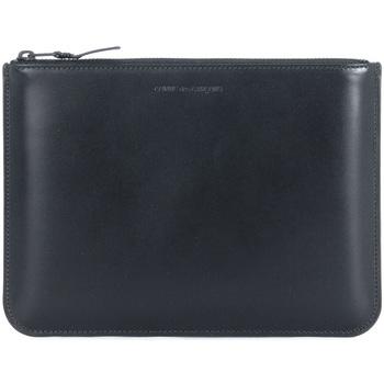 Bags Men Pouches / Clutches Comme Des Garcons Comme des Garçons black calf purse Black