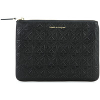 Bags Women Pouches / Clutches Comme Des Garcons Pochette Comme des Garcons wallet in black cow leather Black