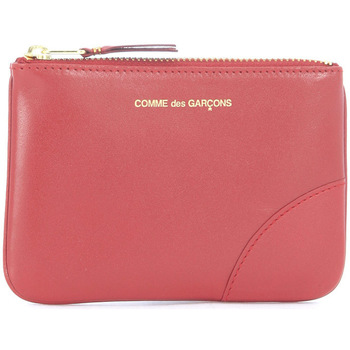 Bags Men Wallets Comme Des Garcons in red calf leather Red