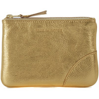 Bags Wallets Comme Des Garcons Comme des Garçons golden leather purse wallet Gold