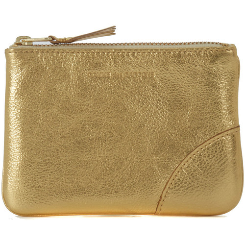 Bags Women Purses Comme Des Garcons Comme des Garçons golden leather purse wallet Gold