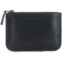 Bags Men Wallets Comme Des Garcons Comme des Garçons black calf leather purse Black