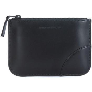 Bags Men Pouches / Clutches Comme Des Garcons Comme des Garçons black calf leather purse Black