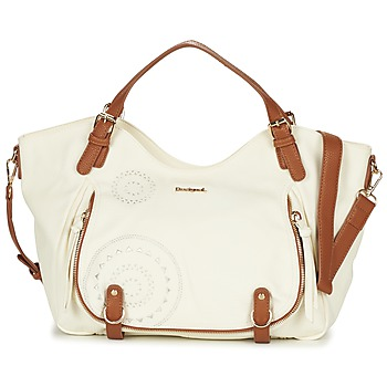 Bags Women Small shoulder bags Desigual ROTTERDAM AVIGNON ECRU / CAMEL