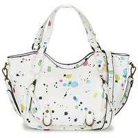Bags Women Small shoulder bags Desigual ROTTERDAM MINI NEW SPLATT White