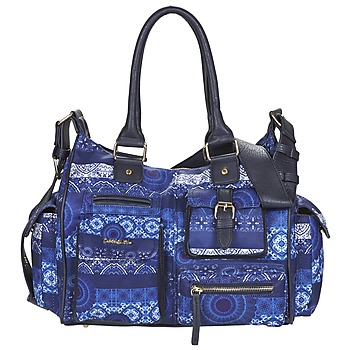 Bags Women Small shoulder bags Desigual LONDON MEDIUM BARBADOS Blue