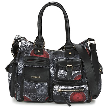 Bags Women Small shoulder bags Desigual LONDON MEDIUM BARBADOS Black