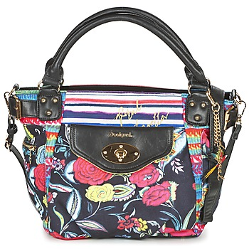 Bags Women Small shoulder bags Desigual MC BEE CANCÚN Black / Multicoloured