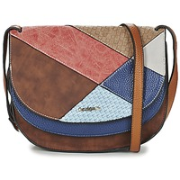 Bags Women Shoulder bags Desigual ATLAS TURÍN Multicolour / Brown