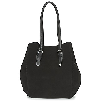 Bags Women Shopping Bags / Baskets Ikks THE CAPTAIN Black