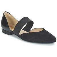 Shoes Women Flat shoes Gabor BALETTE Black