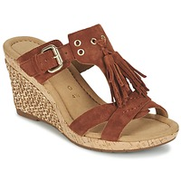 Shoes Women Sandals Gabor MULETTE Brown
