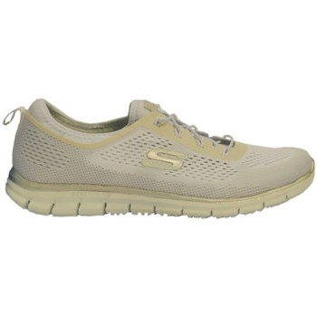 Shoes Women Low top trainers Skechers Wsl Cream-White