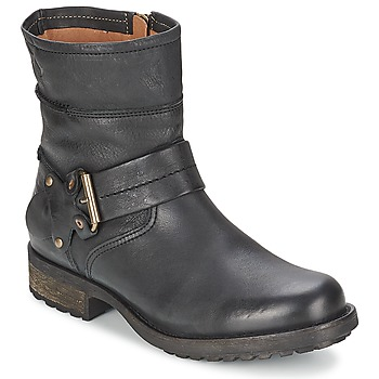 Shoes Women Mid boots Goldmud UNION  BLACK