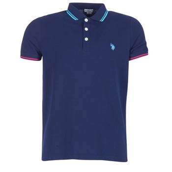 Clothing Men short-sleeved polo shirts U.S Polo Assn. BARNEY MARINE