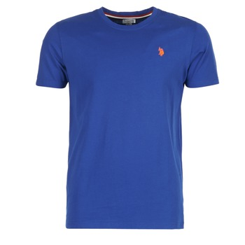 Clothing Men short-sleeved t-shirts U.S Polo Assn. DBL HORSE Blue