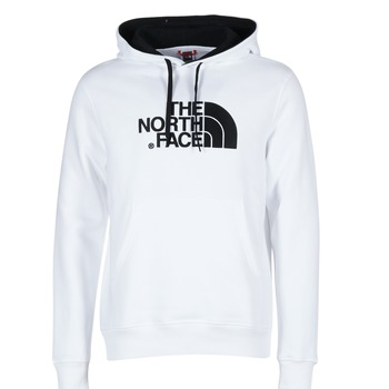 Clothing Men sweatpants The North Face DREW PEAK PULLOVER HOODIE White