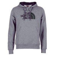 Clothing Men Sweaters The North Face DREW PEAK PULLOVER HOODIE Grey