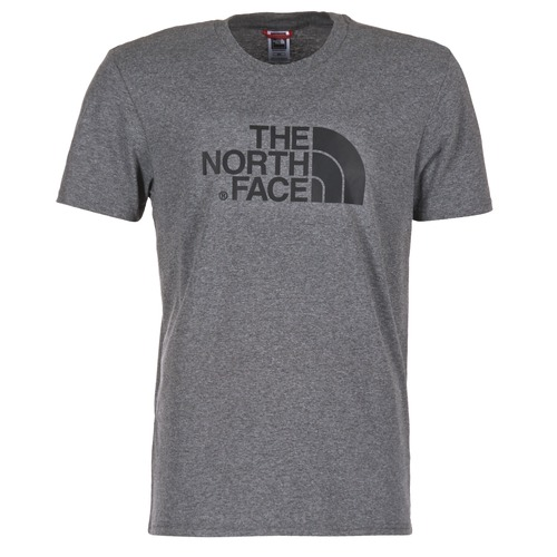 Clothing Men short-sleeved t-shirts The North Face EASY TEE Grey
