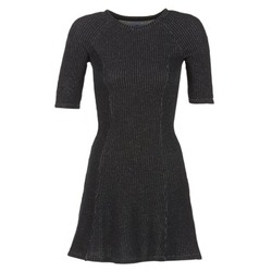 Clothing Women Short Dresses Loreak Mendian ZENIT Black