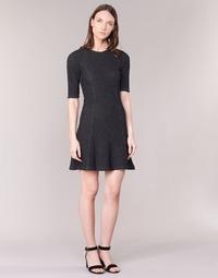 Clothing Women Short Dresses Loreak Mendian ZENIT Black