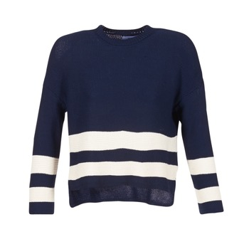 Clothing Women jumpers Loreak Mendian MARINA MARINE