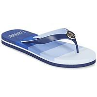 Shoes Women Flip flops Ralph Lauren ELISSA III SANDALS CASUAL Blue